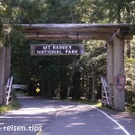 Zufahrt zum Mount Rainier Nationalpark