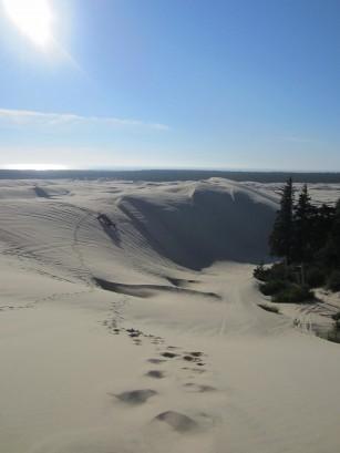 Wanderung durch die Oregon Dunes